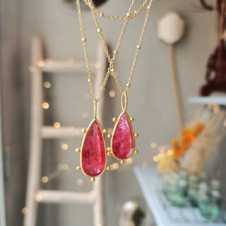 Soo magical!  #monicagjewels💕  #rubellite #gems #preciousstones  #finejewelrydesign  #18kgoldjewelry  #handcraftedjewelry  #shopnow🛍  #worldwideshipping