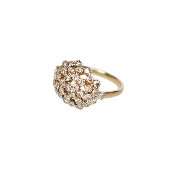 Diamonds satin ring - Monica G.