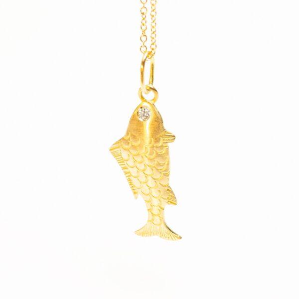 Rich Fish Pendant - Monica G