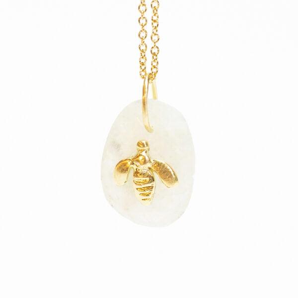 Candy Bee Pendant - Monica G