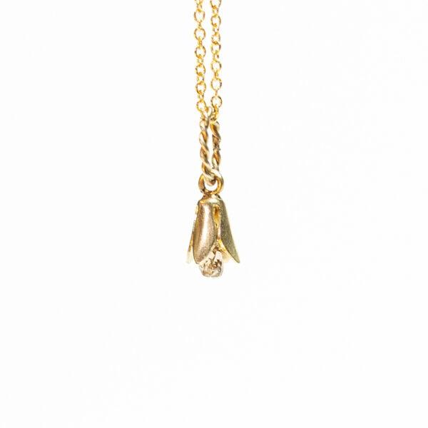 Flowerbell Diamond Pendant - Monica G