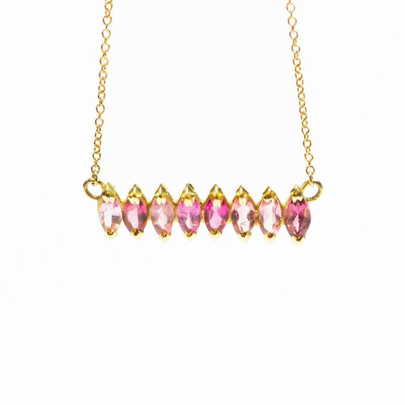Shades of Pink Necklace - Monica G