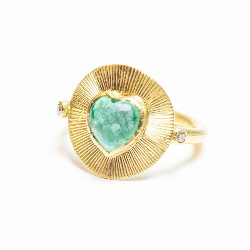 Sunlight Emerald Ring - Monica G
