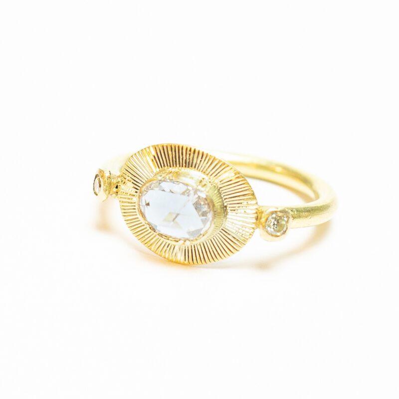 Sunlight Diamond Ring - Monica G