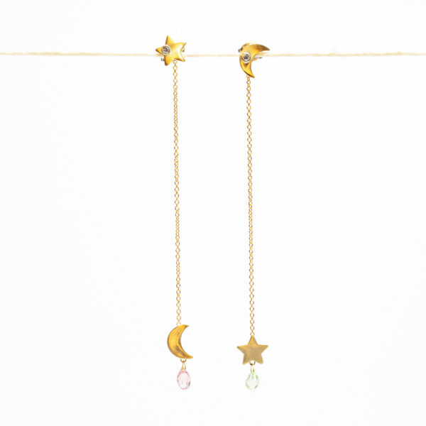Moon and Star Earring - Monica G.
