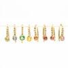 Rainbow Diamond Earrings - Monica G.