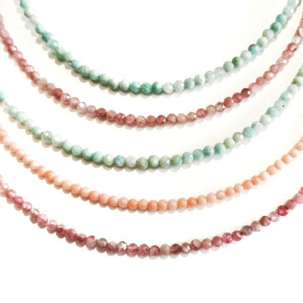 Stones Necklace Spring - Monica G