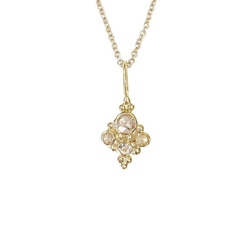 Bombay Diamond Pendant - Monica G
