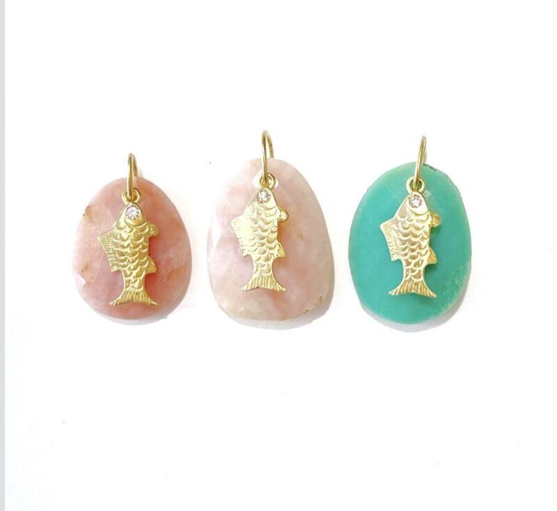 Candy Fish Pendant - Monica G