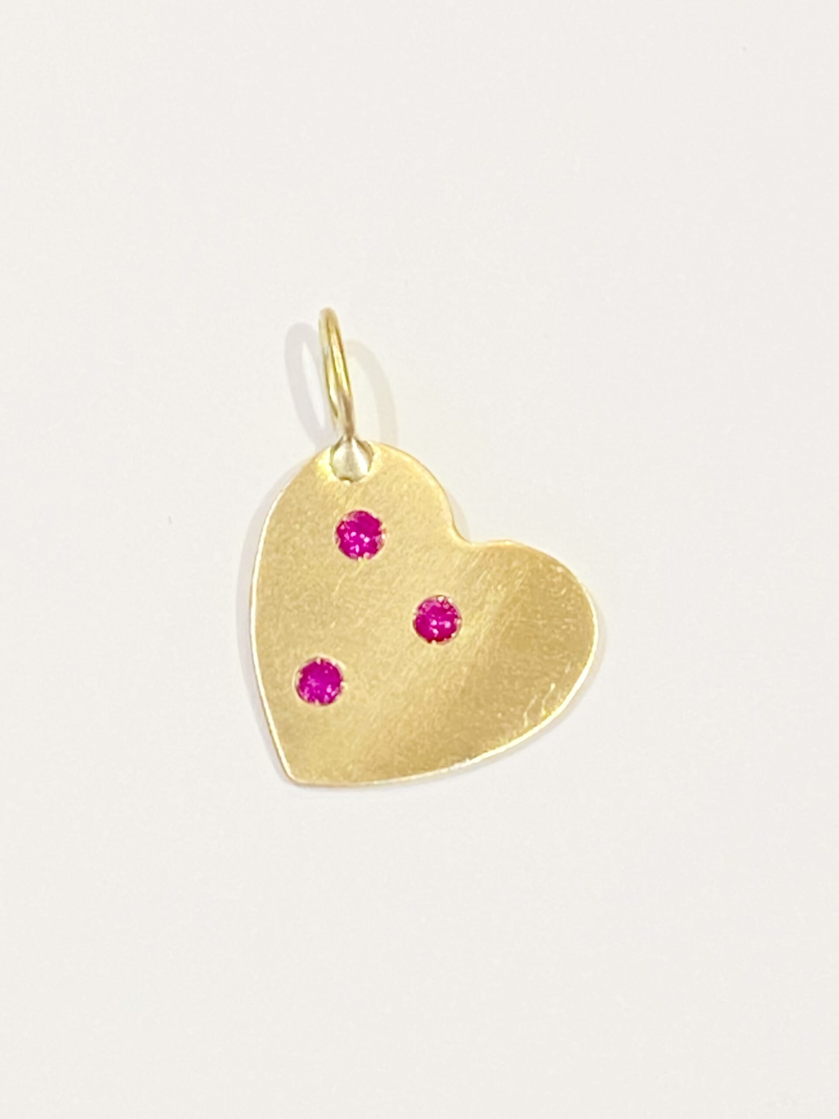 Golden Heart Pendant - Monica G