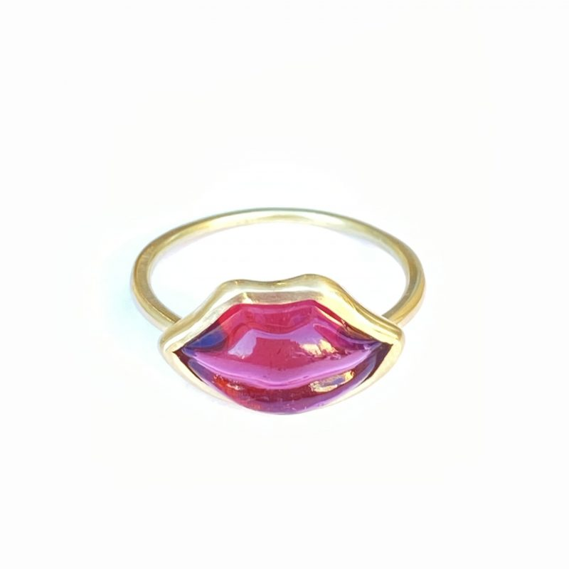 Red Lips Ring - Monica G.