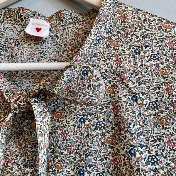 Cotton Liberty Print Blouse - Monica G. Capsule Collection-01