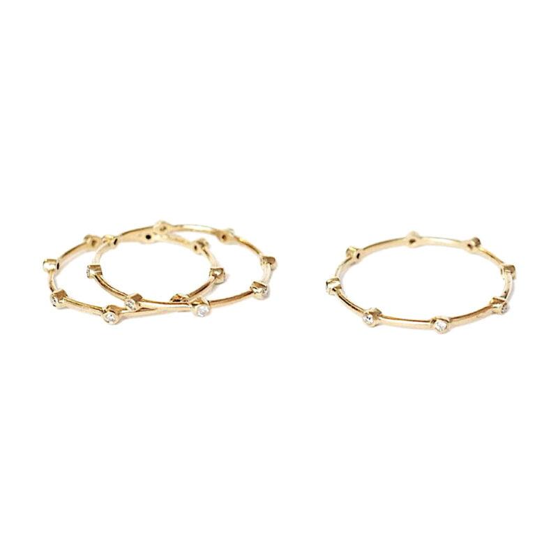 Mini Multi Diamonds Ring - Monica G